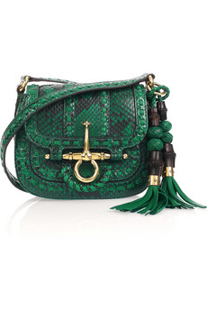 Gucci Python Shoulder Bag