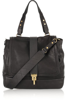 Lanvin Lovely Leopold Leather Tote