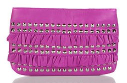 Betsey Johnson Frill Me Up Clutch