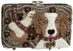 Mary Frances Accessories Fetch Clutch | Absurd Novelty Beaded Dog Bag