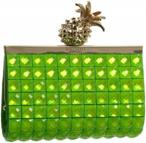 Kate Spade Lemon Drop Small Framed Lella Clutch
