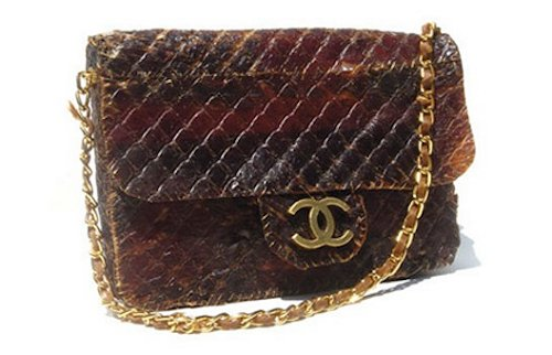 Chanel Beef Jerky Purse