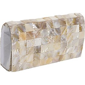 Mad by Design Mother of Pearl Clutch