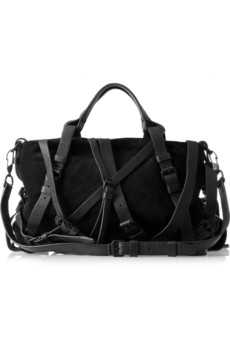 Alexander Wang Kristen Multi-Strap Suede Shoulder Bag