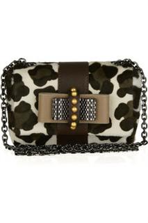 Christian Louboutin Mini Sweet Charity Calf Hair Bag