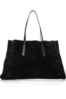 Jil Sander Suede Packable Tote
