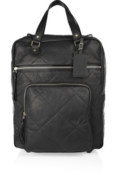 Lanvin Amalia Voyage Leather Suitcase