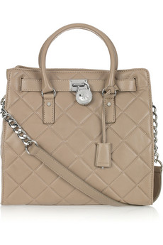 MICHAEL Michael Kors Hamilton Quilted Leather Tote