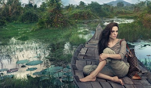 Angelina Jolie Louis Vuitton Core Values Ad