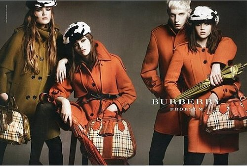 Burberry Fall Winter 2011 Ad