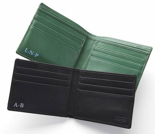 Monogrammed Coach Wallets