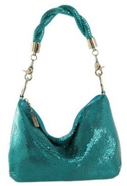 Whiting & Davis Mini Twisted Hobo