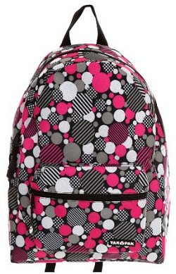 Yak Pak Dot Print Backpack