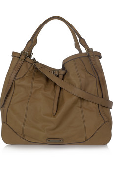 Burberry Slouchy Oversized Leather Tote