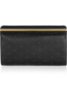 Chloe Studded Leather Clutch
