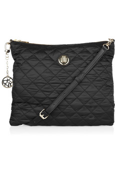 DKNY Quilted Fold Over Bag