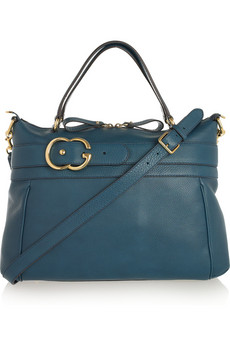 Gucci Ride Textured Leather Tote