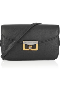 Marc By Marc Jacobs Jane On A Leash Leather Shoulder Bag