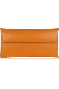 Jil Sander Origami Folded Leather Clutch