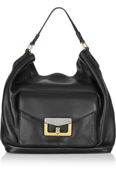 Marc By Marc Jacobs Textured Leather Hobo Bag