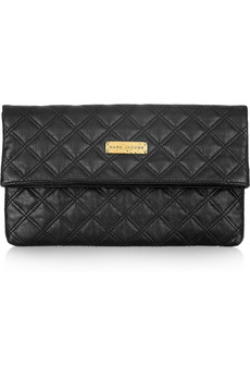 Marc Jacobs Eugenie Quilted Leather Clutch
