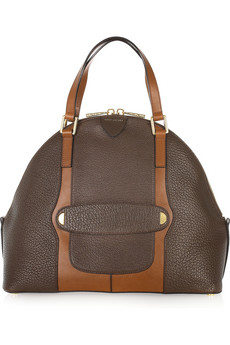 Marc Jacobs The Bowery Two-Tone Leather Tote