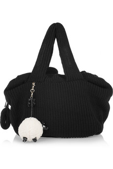 See By Chloe Joy Rider Wool Blend Shoulder Bag