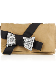 See By Chloe Rodas Crystal-Embellished Leather Bag