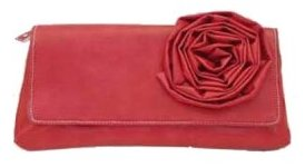 Chinese Laundry Rosette Clutch
