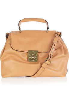 Chloe Elsie Leather Shoulder Bag