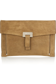Jimmy Choo Prince Suede Clutch