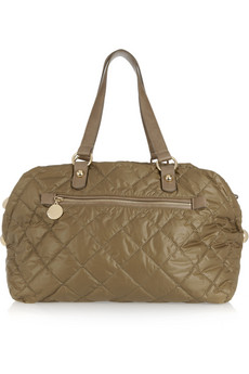 Stella McCartney Quilted Bowling Bag