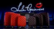 Lulu Guinness's New Luggage | Lip Decorated The World is Your Oyster Trolleys & Travel Bags