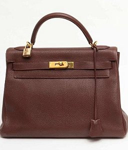 Hermes Brown Kelly Bag