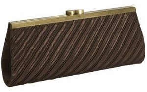 J Furmani Pleated Clutch