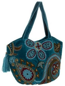 Jesselli Couture Blues Satchel