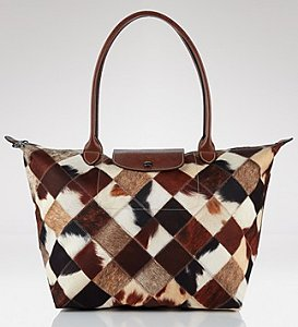 Longchamp Patch Toile Tote