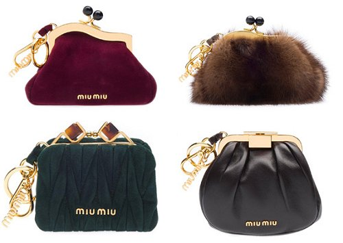 Miu Miu Fashions Night Out Clutches