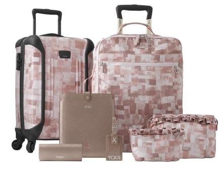 Tumi Breast Cancer Travel Bags