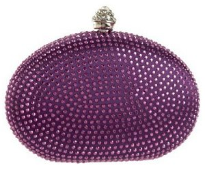 Savanna Oval Stone Clutch