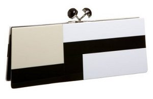 Sondra Roberts Colorblocked Clutch