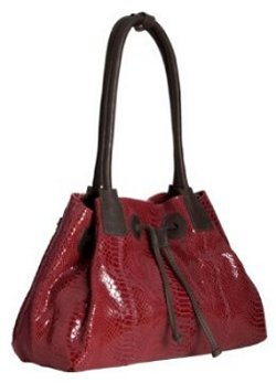 Alla Leather Art Empire Shoulder Bag