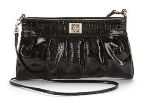 Anne Klein Perfectly Pleated Clutch