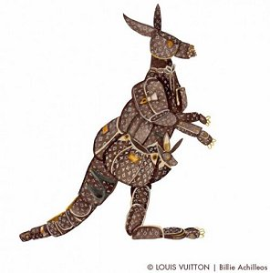 Louis Vuitton Kangaroo