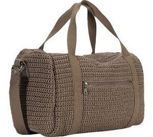 The SAK Crochet Sport Duffle