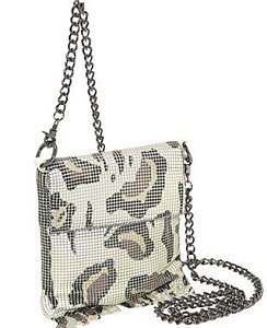Whiting & Davis Gatopardo Cross-Body Bag
