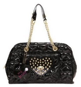 Betsey Johnson Be Mine Again Satchel