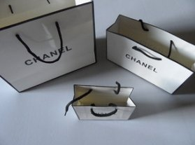 Chanel Paper Bags
