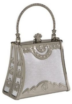 Coloriffics Silver Frame Bag