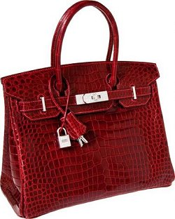 Crocodile Hermes Birkin Bag